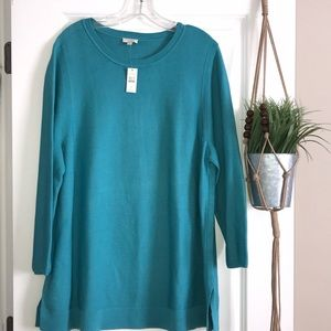 Talbots  Crewneck 3/4 Sleeve Sweater